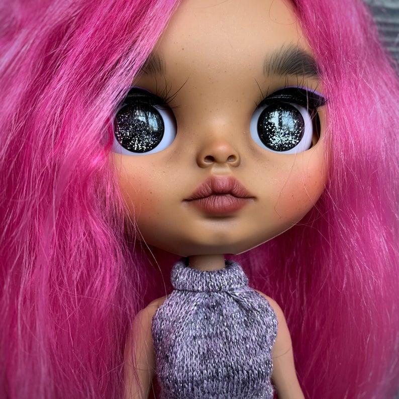 Hailey- Custom Blythe Doll One-Of-A-Kind OOAK Custom Blythe Doll ⭐