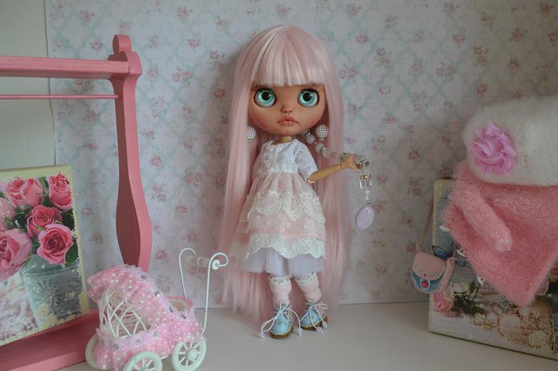 Riley - Custom Blythe Doll One-Of-A-Kind OOAK Custom Blythe Doll ⭐