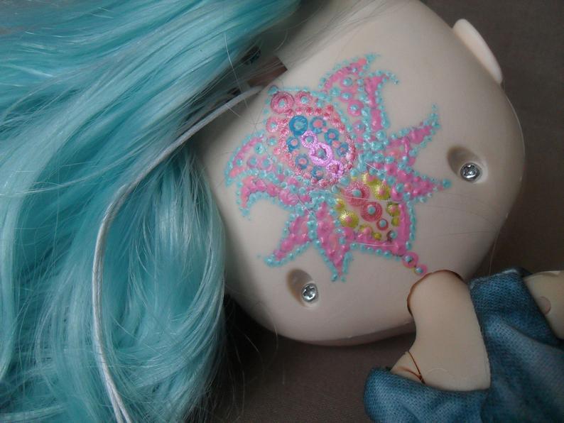Matilda - Custom Blythe Doll One-Of-A-Kind OOAK Custom Blythe Doll ⭐
