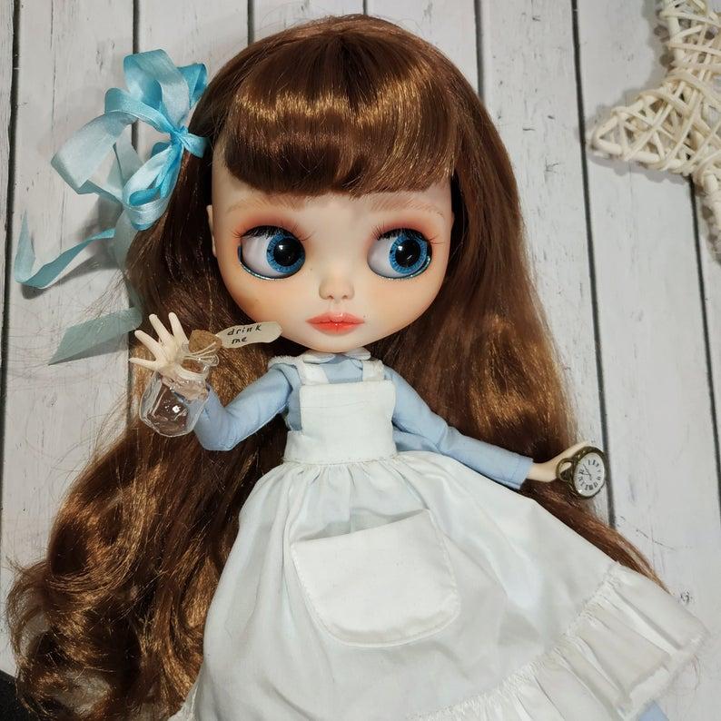 Alisa - Custom Blythe Doll One-Of-A-Kind OOAK Custom Blythe Doll ⭐