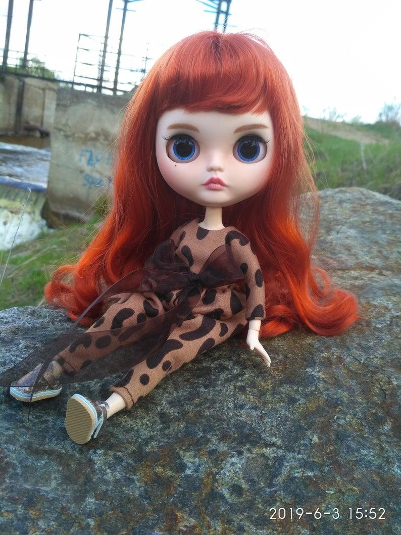Lydia - Custom Blythe Doll One-Of-A-Kind OOAK Custom Blythe Doll ⭐