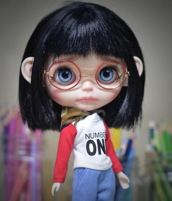 Emery - Custom Blythe Doll One-Of-A-Kind OOAK Blythe Doll Combos