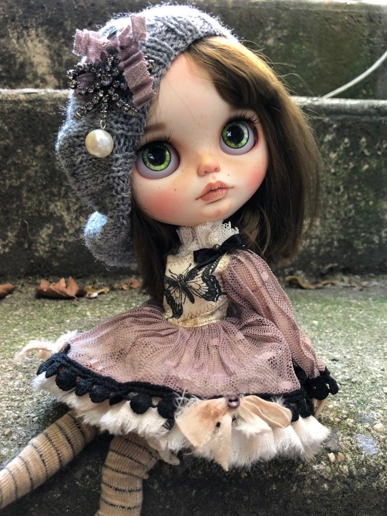 Gloria - Custom Blythe Doll One-Of-A-Kind OOAK Sold-out Custom Blythes