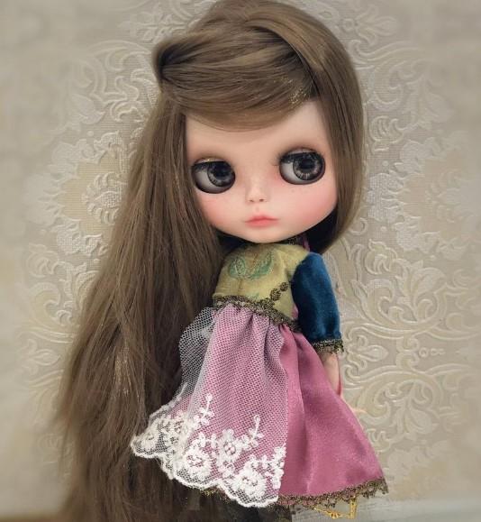 Marguerite - Custom Blythe Doll One-Of-A-Kind OOAK Custom Blythe Doll ⭐