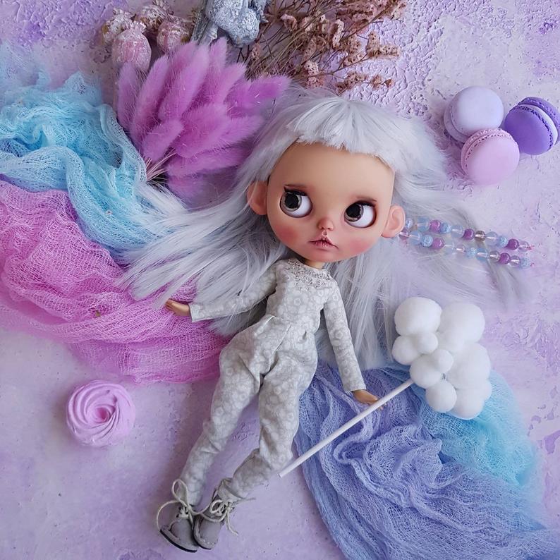 Hannah - Custom Blythe Doll One-Of-A-Kind OOAK Custom Blythe Doll ⭐