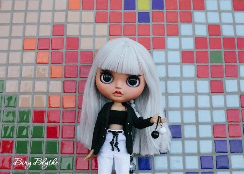 Fibi - Custom Blythe Doll One-Of-A-Kind OOAK Custom Blythe Doll ⭐