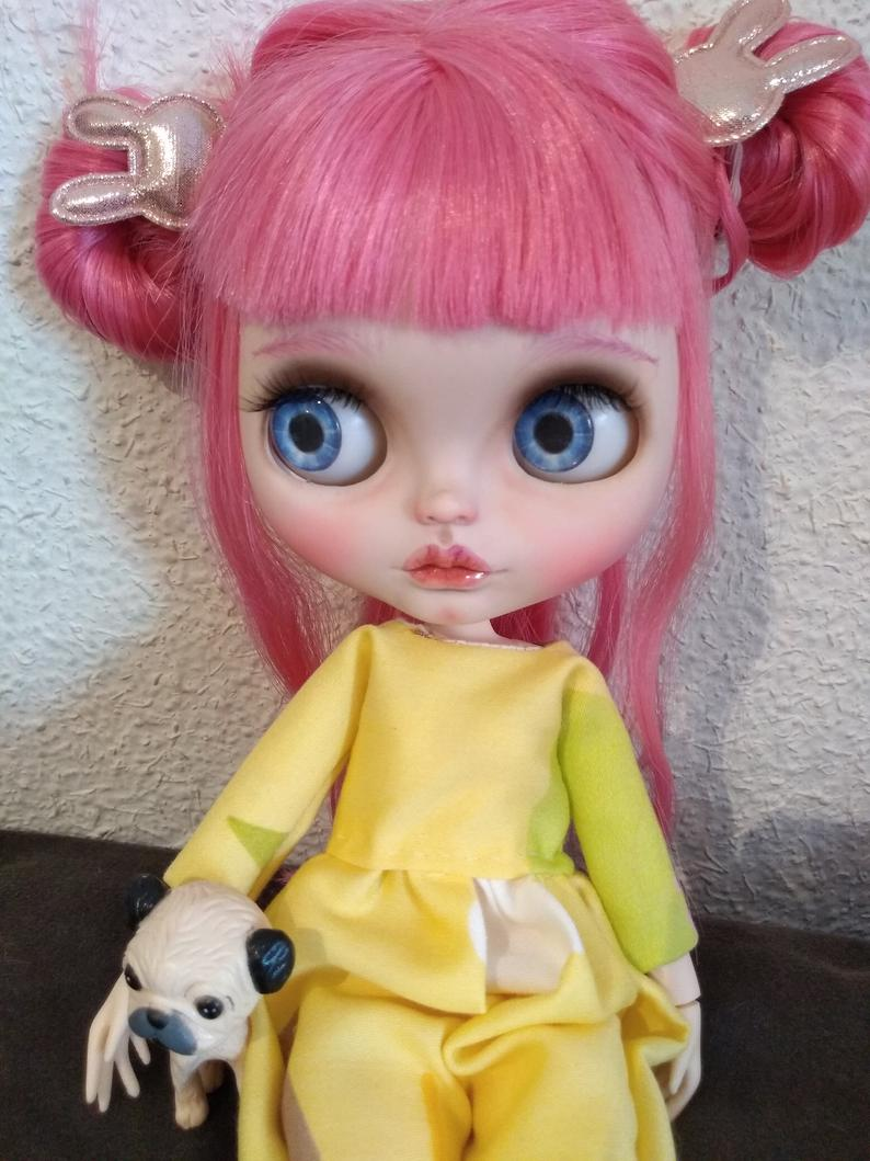 Sue - Custom Blythe Doll One-Of-A-Kind OOAK Custom Blythe Doll ⭐