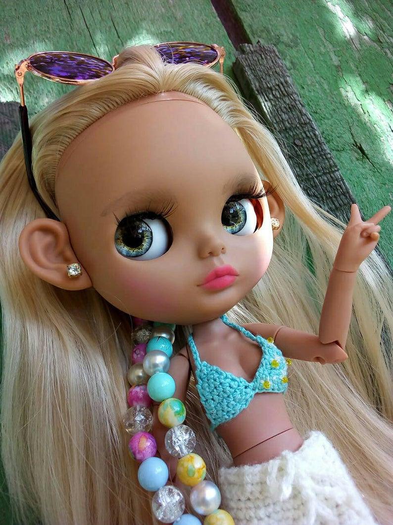 Allison - Custom Blythe Doll One-Of-A-Kind OOAK Custom Blythe Doll ⭐