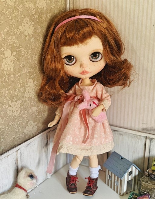 Irena - Custom Blythe Doll One-Of-A-Kind OOAK Sold-out Custom Blythes