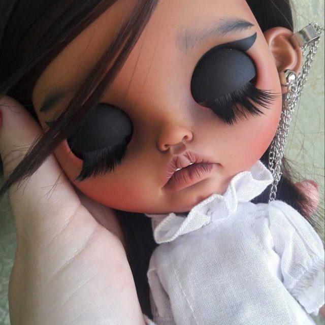 Federica - Custom Blythe Doll Yek-Tewra OOAK