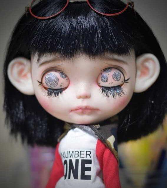 Emery - Custom Blythe Lutka-jedna-od-vrste OOAK