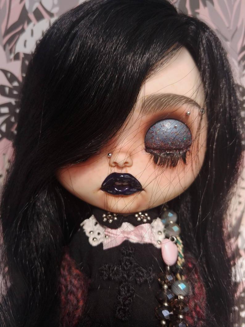 Aria - Custom Blythe Doll One-Of-A-Kind OOAK Custom Blythe Doll ⭐