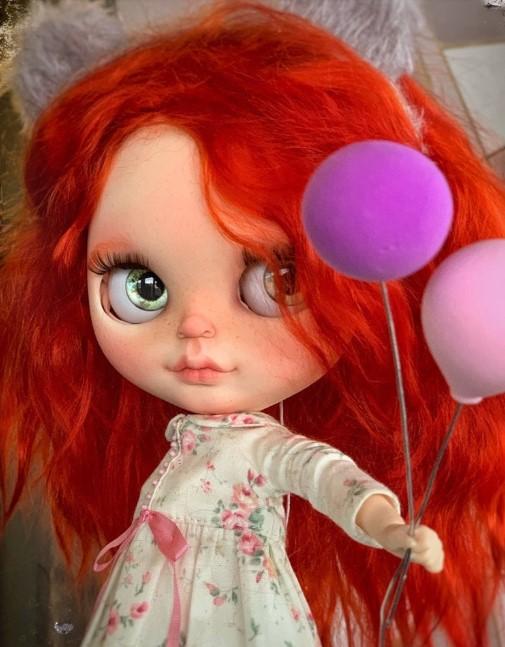 Lillian - Custom Blythe Doll One-Of-A-Kind OOAK Custom Blythe Doll ⭐