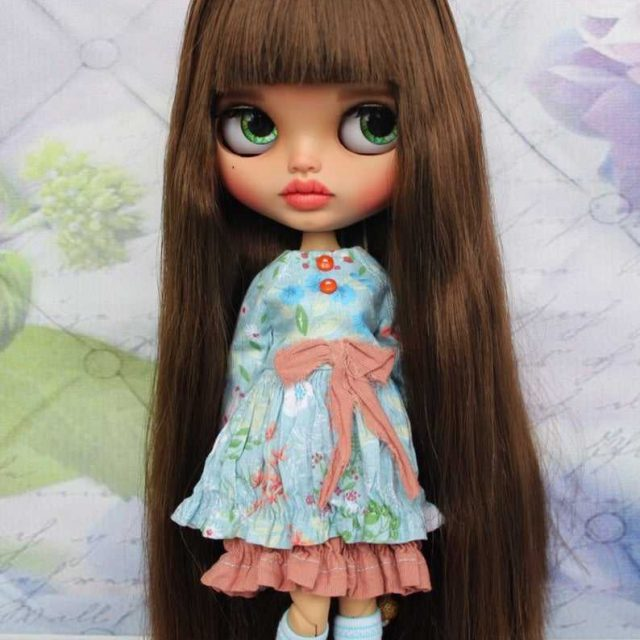 Gianna - Blythe Doll Blythe-Tewek OOAK