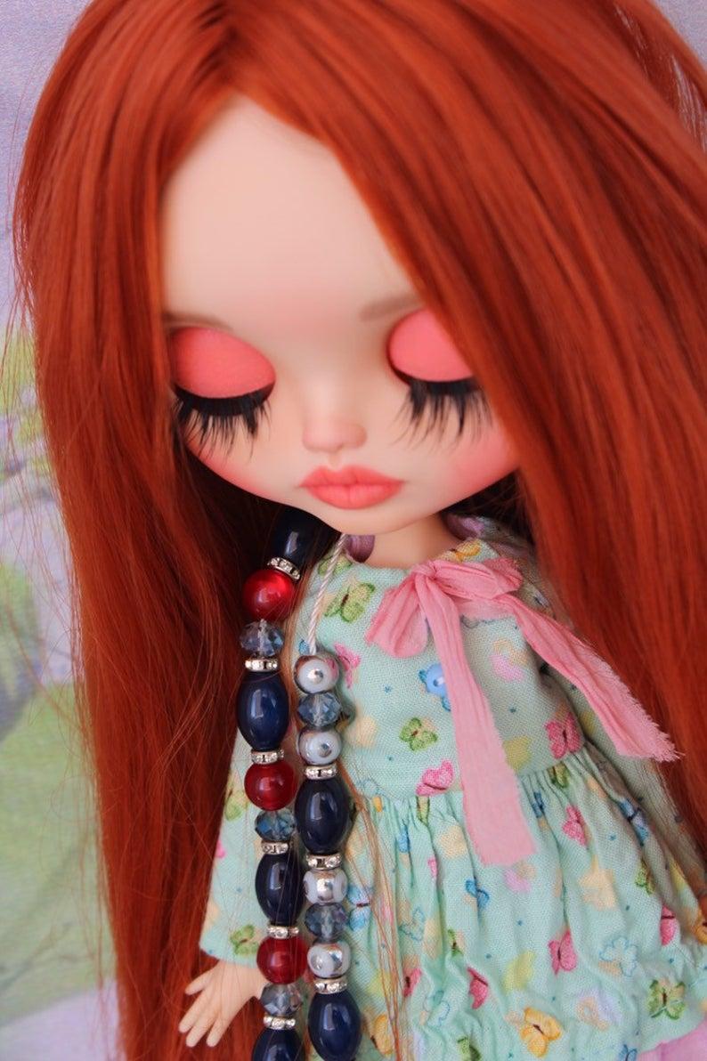 Piper - Custom Blythe Doll One-Of-A-Kind OOAK Custom Blythe Doll ⭐