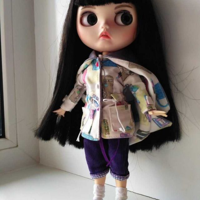 Josephine - Custom Blythe Doll One-Of-A-Kind OOAK