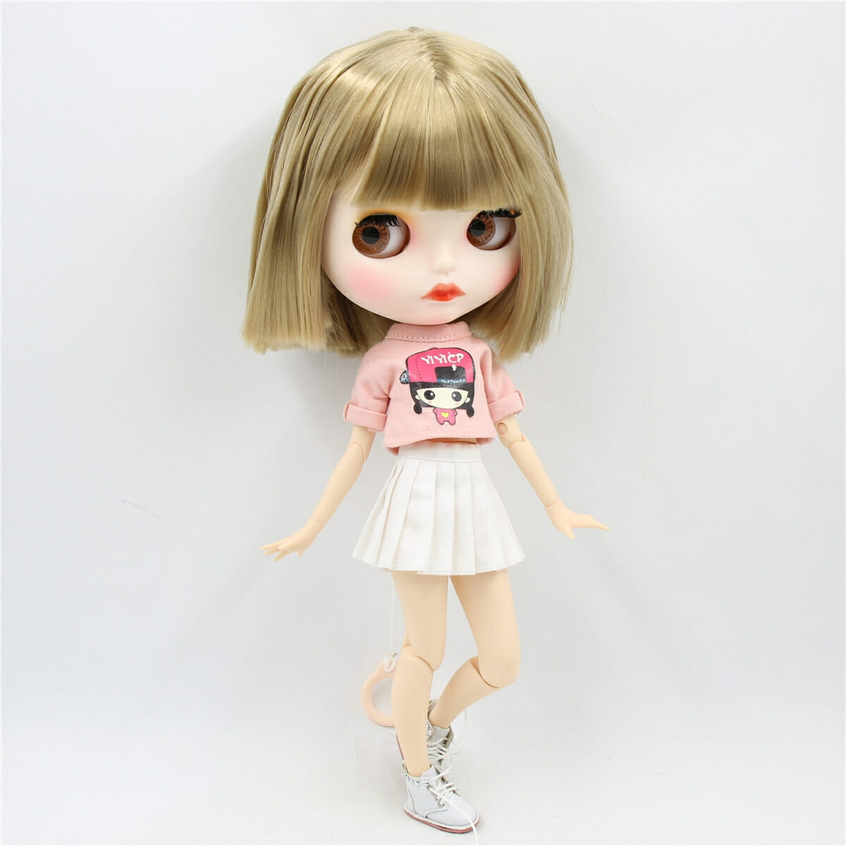 Miracle – Premium Custom Blythe Doll with Full Outfit Cute Face Cute Face Premium Blythe Dolls 🆕