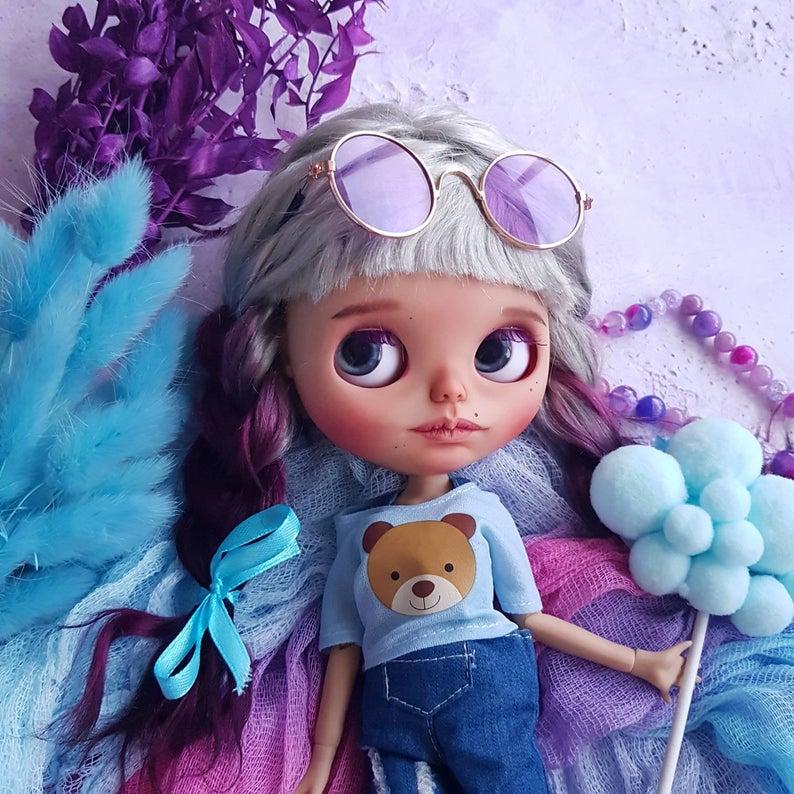 Olivia - Custom Blythe Doll One-Of-A-Kind OOAK Custom Blythe Doll ⭐