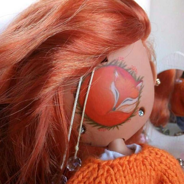 Ruby - Blythe Doll Bişkojk Tiştek OOAK