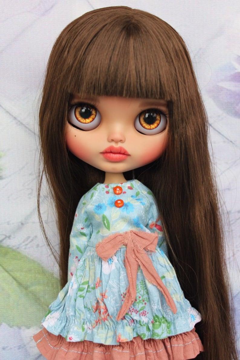 Gianna - Custom Blythe Doll One-Of-A-Kind OOAK Sold-out Custom Blythes