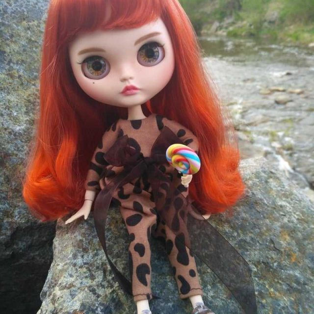 Lydia – 맞춤형 Blythe Doll One-of-A-Kind OOAK