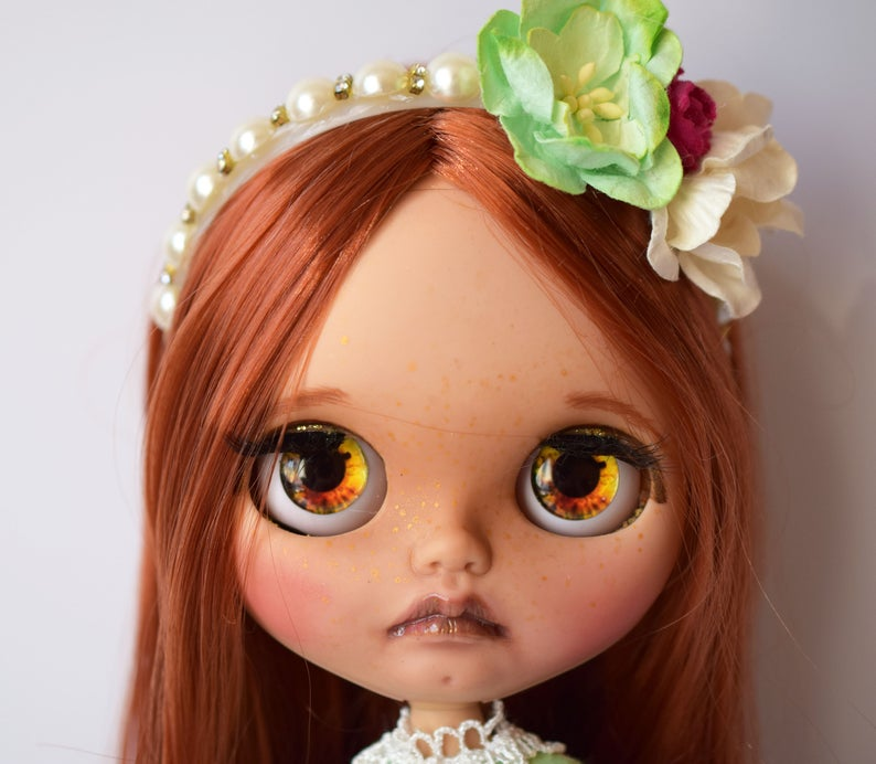 Charlotte - Custom Blythe Doll One-Of-A-Kind OOAK Sold-out Custom Blythes