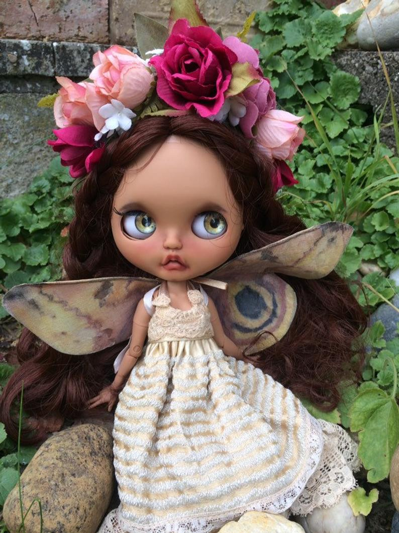Eleanor - Custom Blythe Doll One-Of-A-Kind OOAK Sold-out Custom Blythes