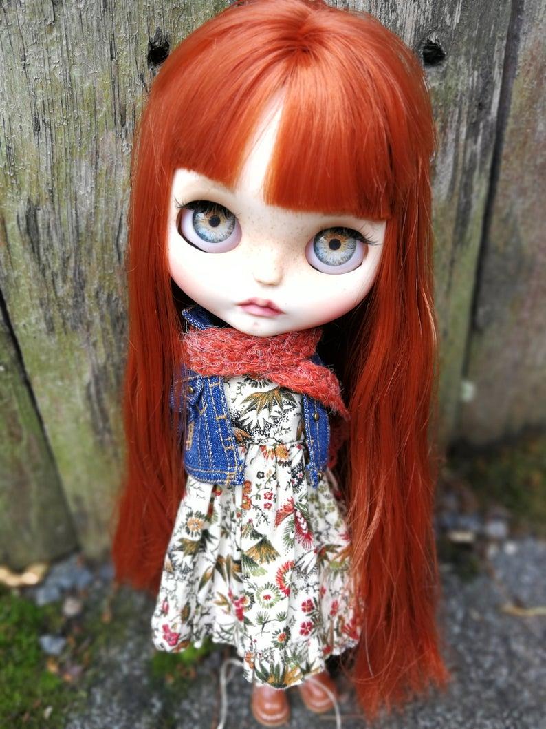 Cannelle - Custom Blythe Doll One-Of-A-Kind OOAK Custom Blythe Doll ⭐