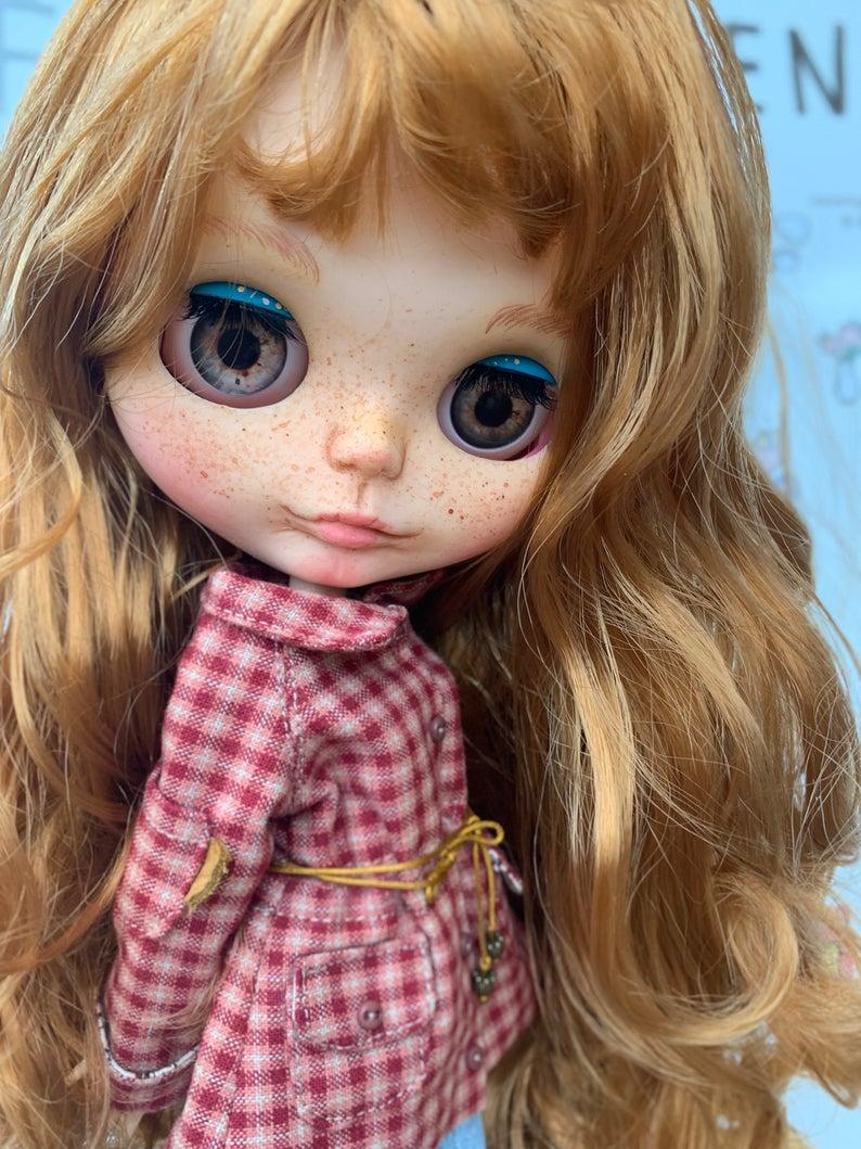 Gabriella - Custom Blythe Doll One-Of-A-Kind OOAK Sold-out Custom Blythes