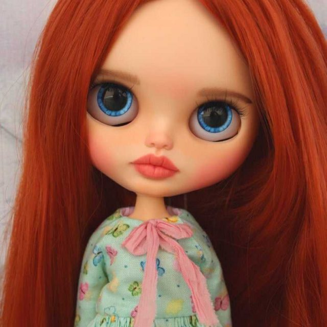 Piper - Custom Blythe poupe One-of-A-Kind OOAK