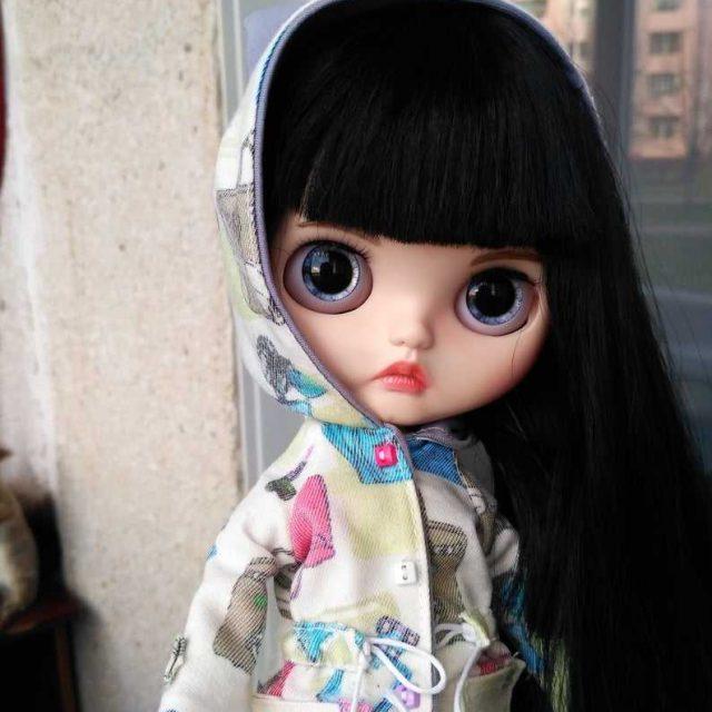 Josephine - Custom Blythe Doll Un-Of-A-Kind OOAK