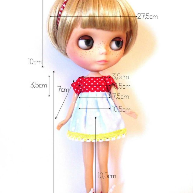 """Blythe Neo Blythe"" lėlių matavimai ir palyginimas https://www.thisisblythe.com/neo-blythe-doll-measurements-and-comparison/"