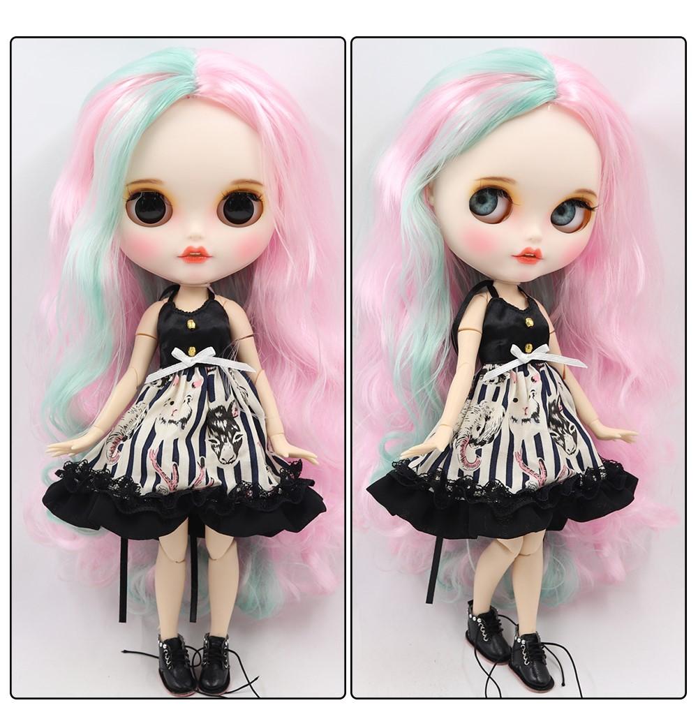 Scarlett – Premium Custom Blythe Doll with Clothes Smiling Face Premium Blythe Dolls 🆕 Smiling Face