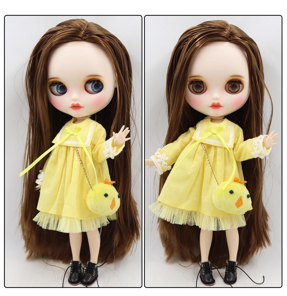 Mila – Premium Custom Blythe Doll with Clothes Smiling Face Premium Blythe Dolls 🆕 Smiling Face