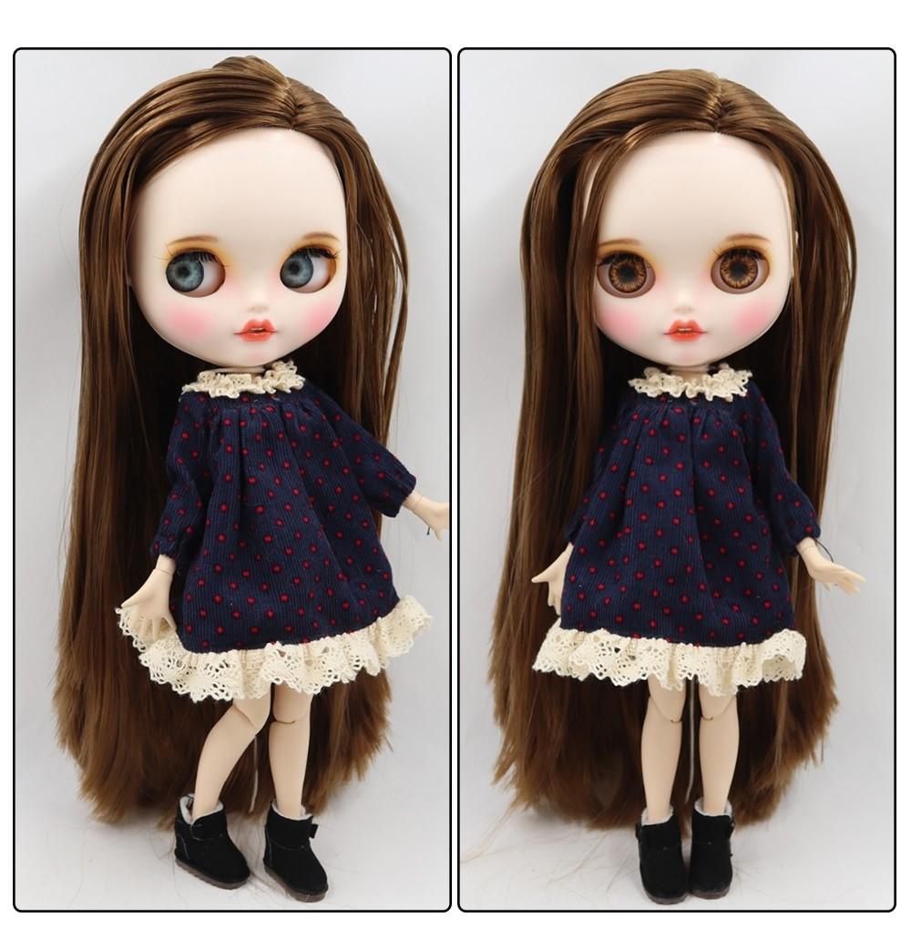 Ella – Premium Custom Blythe Doll with Clothes Smiling Face Premium Blythe Dolls 🆕 Smiling Face