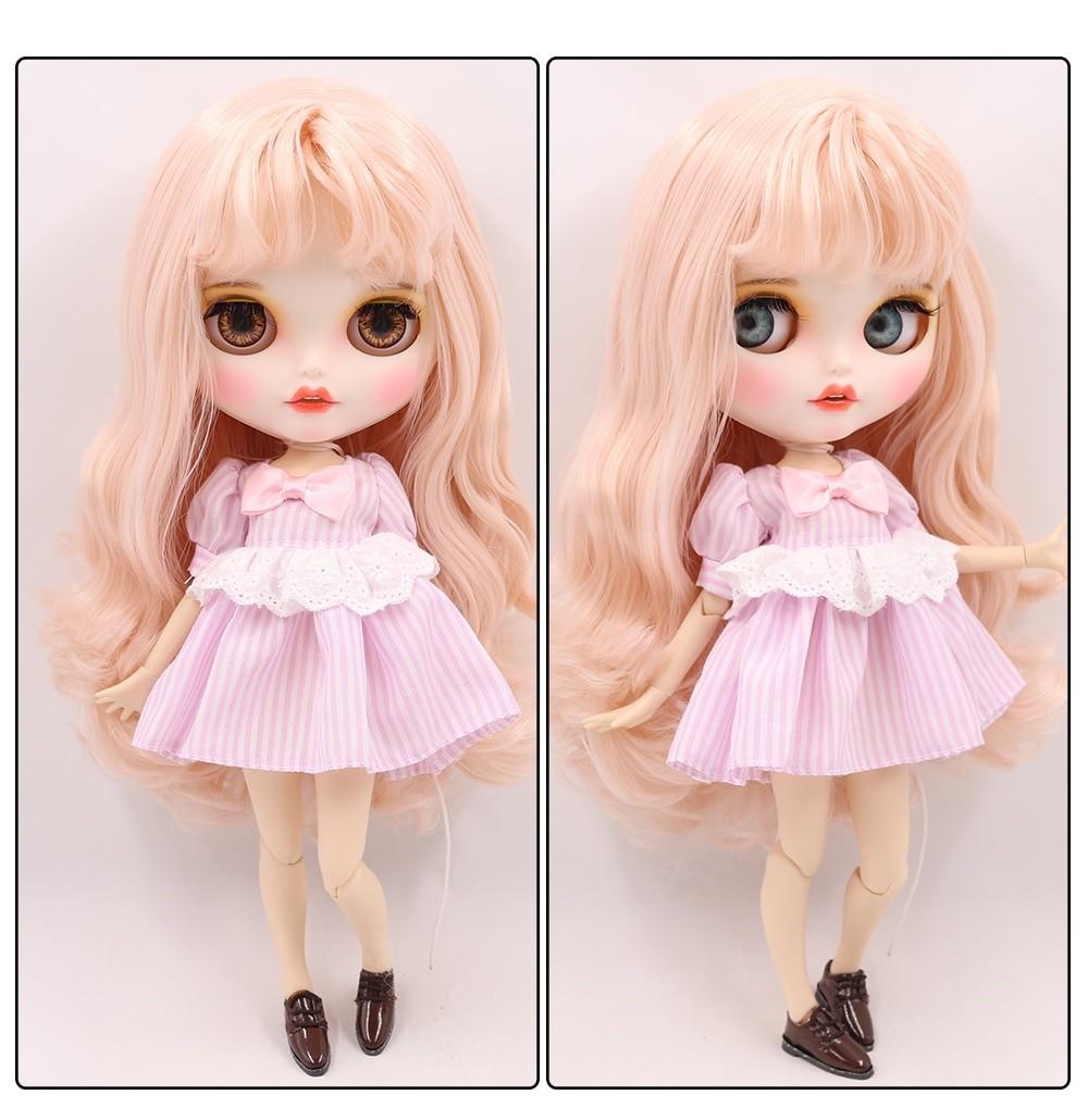 Sofia – Premium Custom Blythe Doll with Clothes Smiling Face Premium Blythe Dolls 🆕 Smiling Face