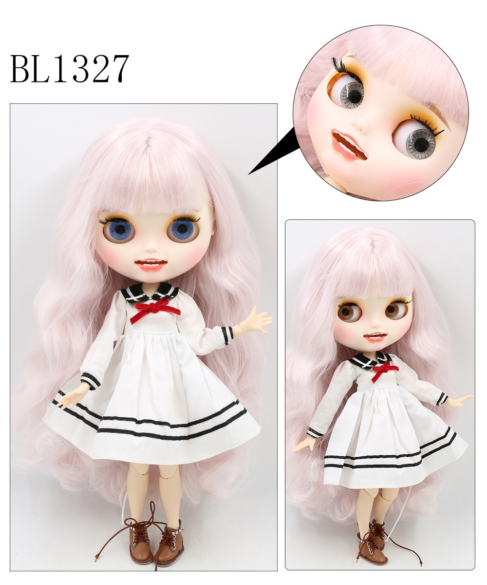 Harley – Premium Custom Blythe Doll with Smiling Face 2