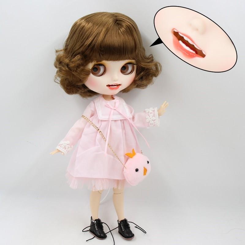 Fiona – Premium Custom Blythe Doll with Clothes Smiling Face Premium Blythe Dolls 🆕 Smiling Face
