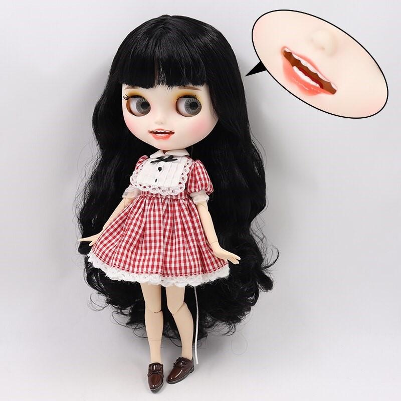 Georgia – Premium Custom Blythe Doll with Clothes Smiling Face Premium Blythe Dolls 🆕 Smiling Face
