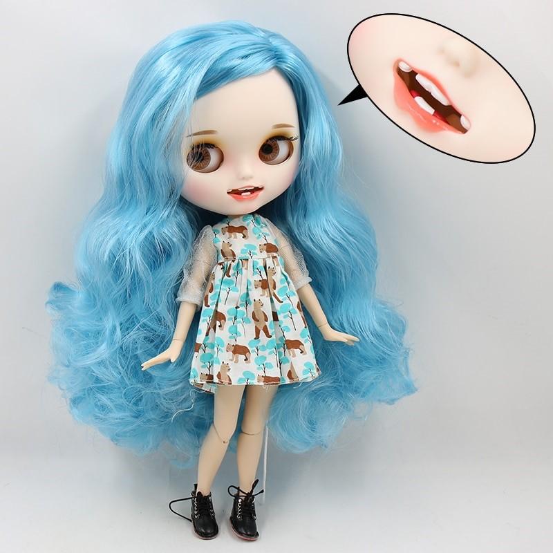 Ana – Premium Custom Blythe Doll with Clothes Smiling Face Premium Blythe Dolls 🆕 Smiling Face