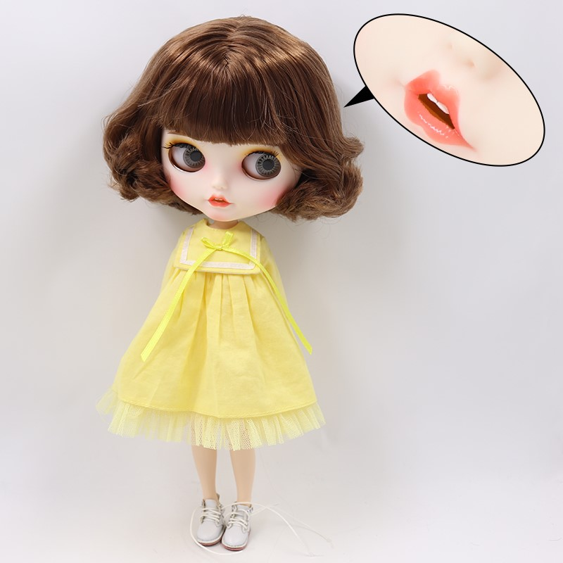 Amy – Premium Custom Blythe Doll with Clothes Smiling Face Premium Blythe Dolls 🆕 Smiling Face