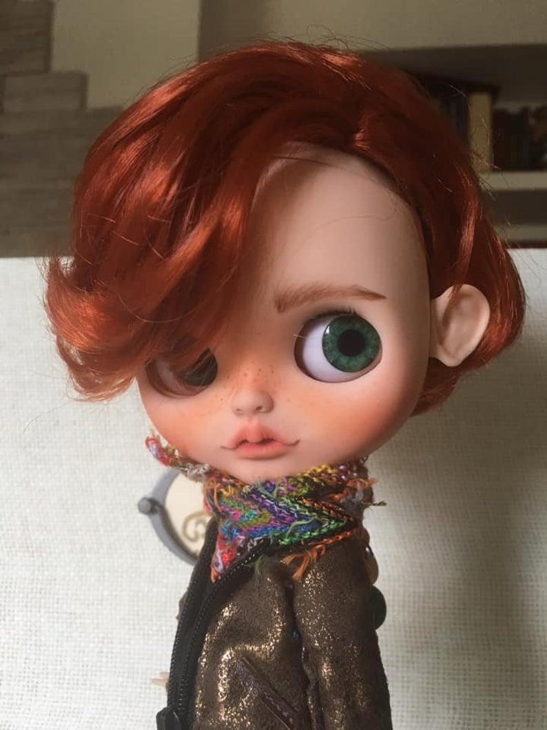 Alvaro - Custom Blythe Doll One-Of-A-Kind OOAK Sold-out Custom Blythes