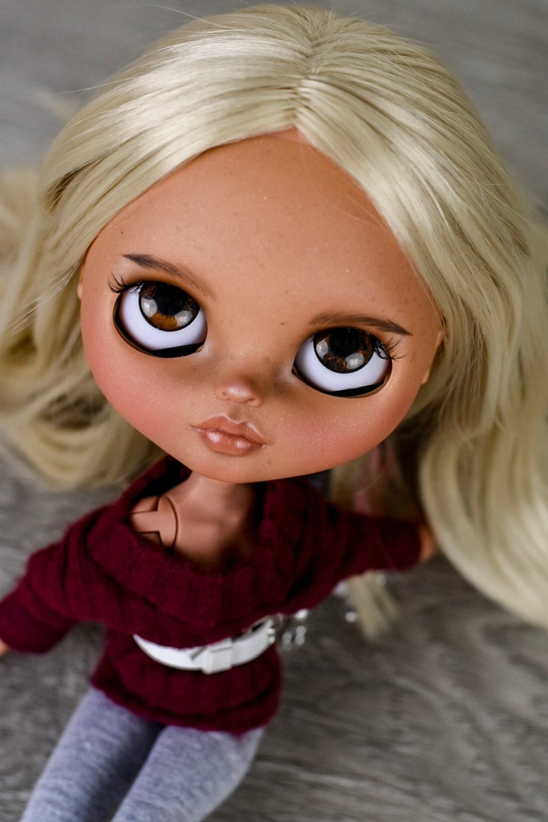 Ellie - Custom Blythe Doll One-Of-A-Kind OOAK Sold-out Custom Blythes