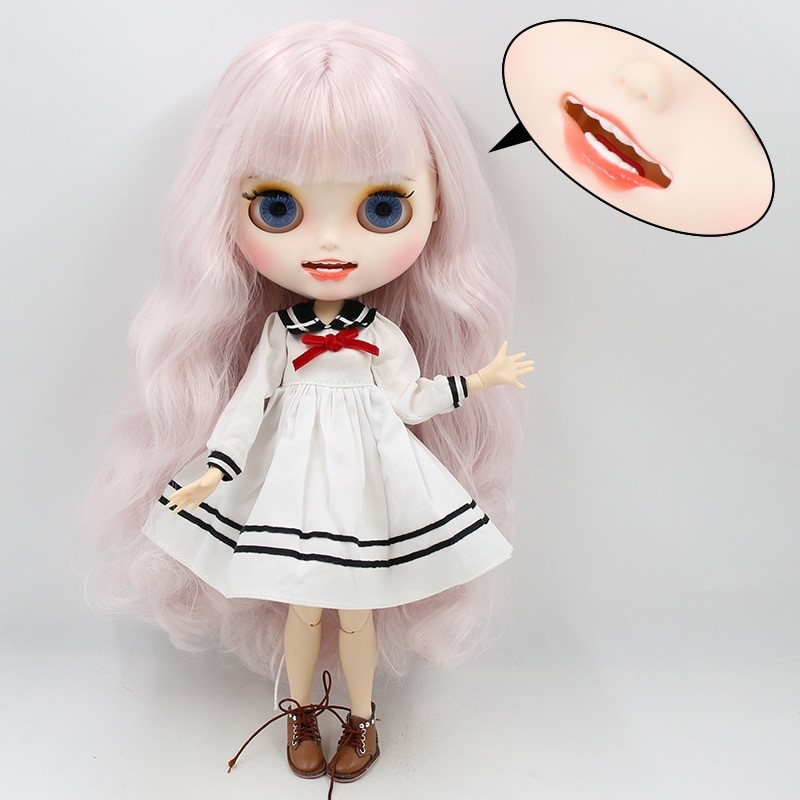 Harley – Premium Custom Blythe Doll with Clothes Smiling Face Premium Blythe Dolls 🆕 Smiling Face