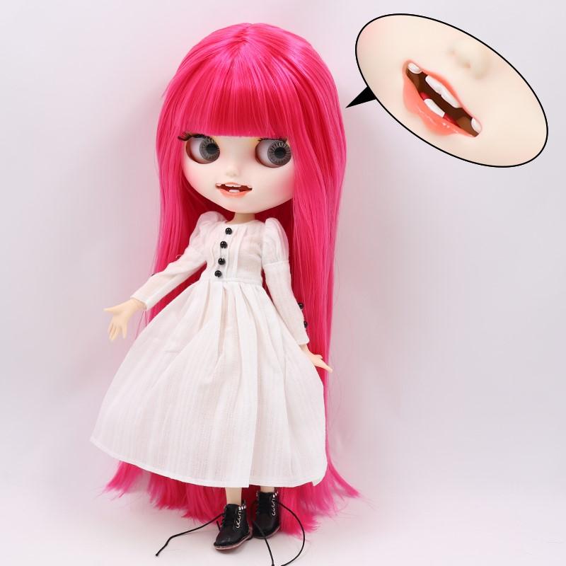Rowan – Premium Custom Blythe Doll with Clothes Smiling Face Premium Blythe Dolls 🆕 Smiling Face
