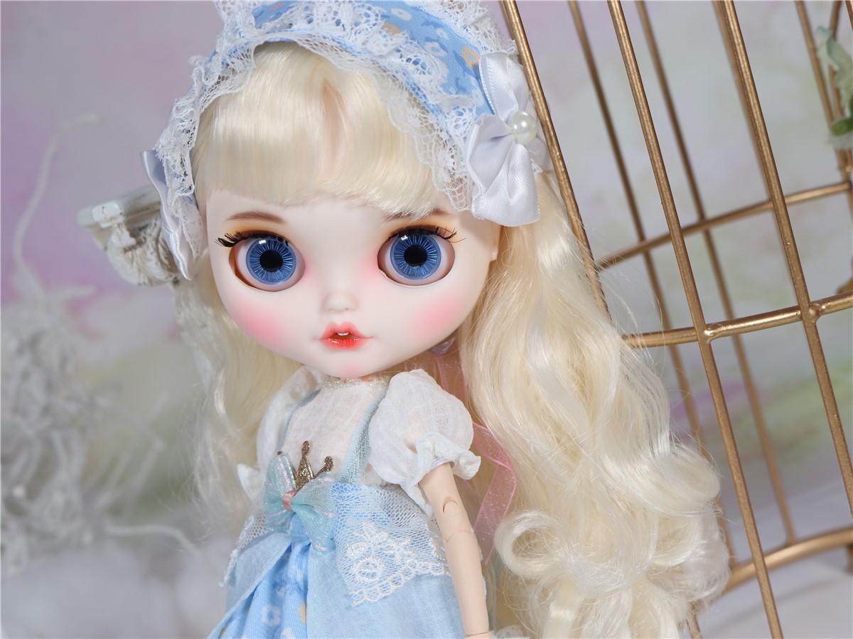 Jessica – Premium Custom Blythe Doll with Clothes Smiling Face Premium Blythe Dolls 🆕 Smiling Face
