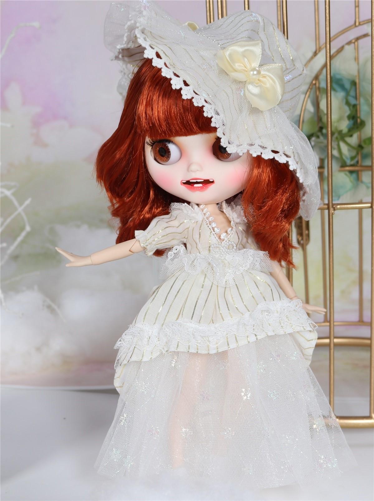 Logan – Premium Custom Blythe Doll with Clothes Smiling Face Premium Blythe Dolls 🆕 Smiling Face