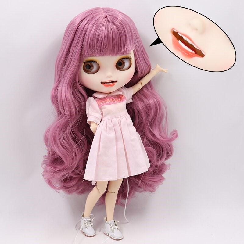 Adelyn – Premium Custom Blythe Doll with Clothes Smiling Face Premium Blythe Dolls 🆕 Smiling Face