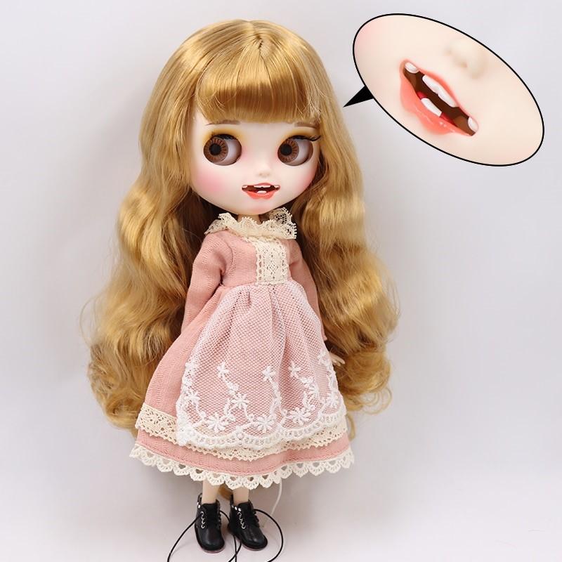 Brynlee – Premium Custom Blythe Doll with Clothes Smiling Face Premium Blythe Dolls 🆕 Smiling Face