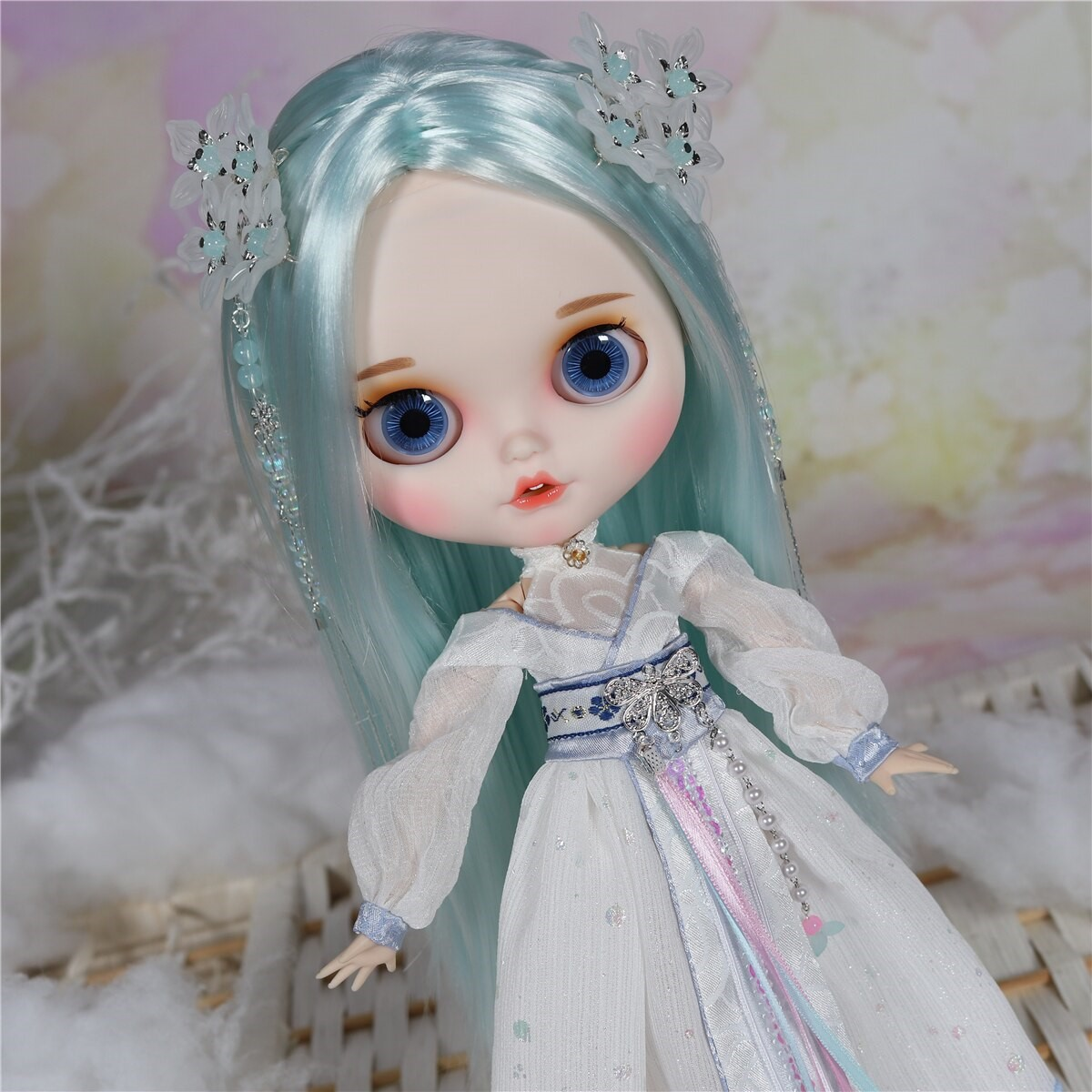 Lena – Premium Custom Blythe Doll with Clothes Smiling Face Premium Blythe Dolls 🆕 Smiling Face